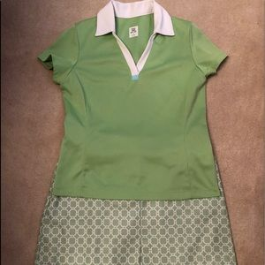 Ladies Tail Golf Outfit, Skirt Size 6, Top Small